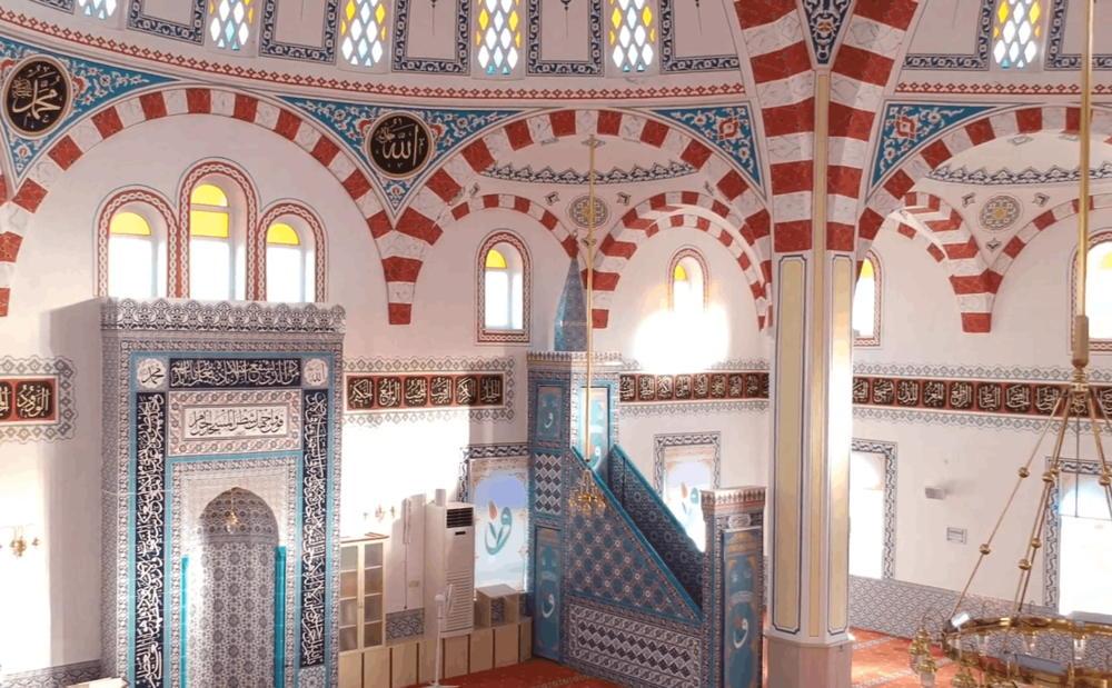 Oriental mosque
